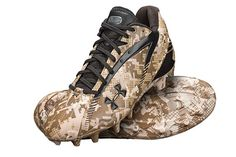 Under Armour partnered with the Wounded Warrior project - football cleats
