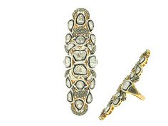 Indian Diamond Ring.