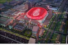 View $650 million Detroit Red Wings arena, entertainment district plans in photo gallery