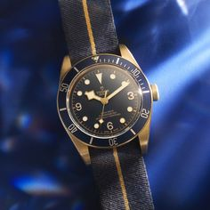 The Tudor Black Bay Bronze Bucherer BLUE is a highly personal collector's item. Only available at Bucherer. Tudor Black Bay Bronze, German English, Jewelry Show, Gift Vouchers, Omega Watch, Rolex Watches, Blue, Accessories, Gift Certificates