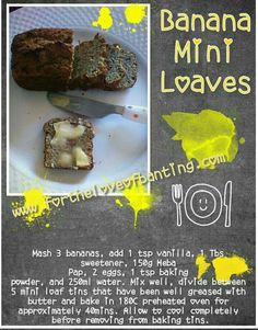 Banting Recipes, Low Carb Recipes, Banting Bread, Low Carb Keto, Meal Prep, Dairy Free, Sweet Treats, Lunch, Snacks