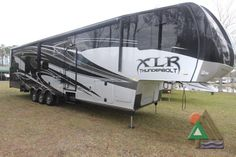 New 2014 Forest River RV XLR Thunderbolt 395AMP Toy Hauler Fifth Wheels at Campers Inn Jacksonville Florida Campers Inn