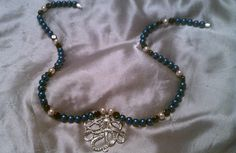 Nautical Pearl Octopus Pendant Necklace by CarinaMary on Etsy, $17.00