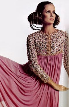 1968 Dress by Christian Dior.