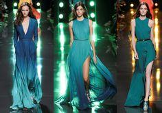 Hilary Blonde: Elie Saab primavera 2015, diseños con temática marina