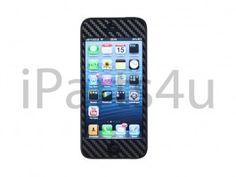 Carbon Skin iPhone 5 Zwart