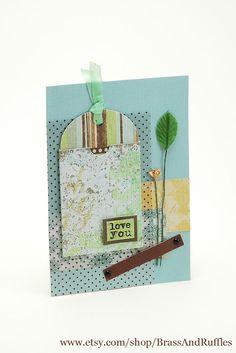 SAS-does: {Lovingly line} Love you card  via http://sas-does.blogspot.com