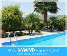 Your own pool: perfect summer indulgence #pissouribay #pissouri #ampelivilla #cyprusvilla #villawithpool https://plus.google.com/+PissouribayCyp/posts/8X15VFFT58F