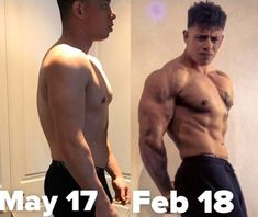 my 8 month transformation - In the left photo I weigh around 103kg on the right 99kg - Over the last 8 months since joining @revolutionfitnessworcester as a personal trainer I have learnt so much regarding proper nutrition and training and the wealth of knowledge at this gym is incredible  - I am excited to continue this trend and cannot wait to see what sort of physique I can bring to my first show in October  #transformation #fatloss #muscle #workout #motivation
