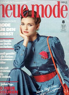 "1979 Schnittmusterheft ""Neue Mode"""