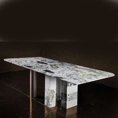 Marble Furniture, Furniture Dining Table, Dining Room Table, A Table, Furniture Design, Dinning Table Design, Wood Table Design, Modern Dining Table, Marble Dining Tables