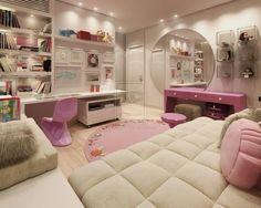 bedroom, cute, designed, enterior