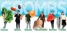 """""""'G-BOMBS' is an acronym [we might] use to remember the most nutrient-dense, health-promoting foods on the planet. These are the foods [we could set ourselves up to] eat every day, & they [c]ould make up a significant proportion of [our] diet–-these foods are extremely effective at preventing chronic disease & promoting health & longevity."""" -per Dr. Fuhrman"""