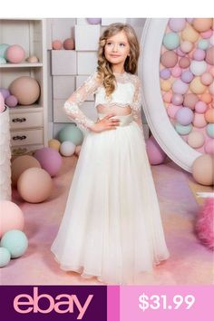 8a5b664b486 44 Best Flower Girl Dresses ♥ Hebeos images in 2019