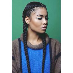 Two Braids Going Back. So Simple, yet cute.