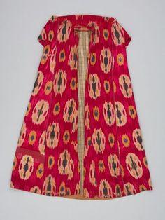 Uzbek coat- textile museum of Canada