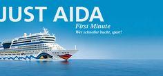AIDA Schnäppchen: JUST AIDA First Minute