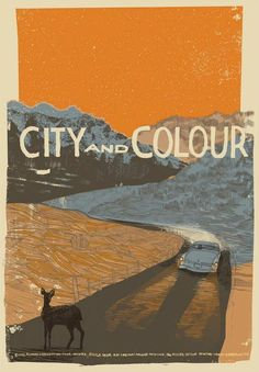 hopefisch:  silver-and—gold:    City and Colour Tour Poster