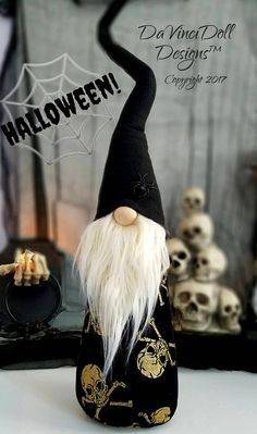 Halloween Gnome Limited Edition Tomte Nisser