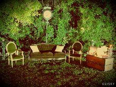 Stage para fotos - Casamiento Juli & Lean - Lowlands #stage_para_fotos #wedding