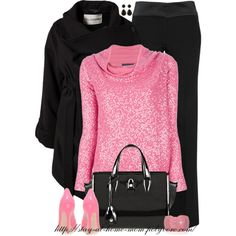 """""""Sequined Sweater"""" by stay-at-home-mom on Polyvore"""