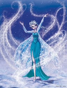Elsa the snowqueen by carine-cote on deviantART