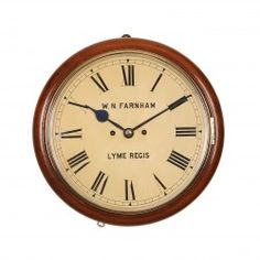 Farnham-striking-fusee-dial-clock