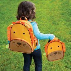 2dc7a414a Mirar que chulo este conjunto de mochila escolar y maletín isotérmico para  los niños, un