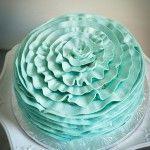 Ruffled cake Cupcake Cookies, Cupcakes, Egg Free Cakes, Ruffle Cake, Allergies, Cake Decorating, Shapes, Candy, Sweet Ideas