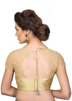 1e11c97facd845 44 best gold images in 2018   Blouse designs, Blouse styles, Indian ...