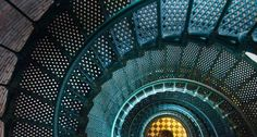 Iron staircase of Currituck Beach Lighthouse, North Carolina...been in this lighthouse...love it!