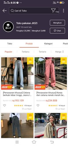 Best Online Clothing Stores, Online Shopping Sites, Shopping Hacks, Online Shopping Clothes, Korean Outfit Street Styles, Korean Outfits, Casual Hijab Outfit, Casual Outfits, Online Shop Baju