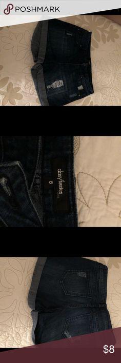 Daisy Fuentes shorts Jean shorts by Daisy Fuentes Daisy Fuentes Shorts Jean Shorts
