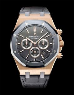 """Audemars Piguet Royal Oak """"to break the rules, you must first master them"""" Brilliance!"""