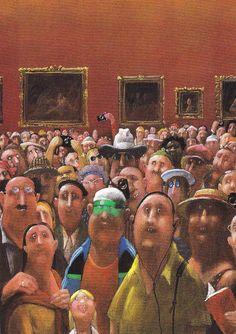 """""""Mona Lisa"""" byGerhard Glück"""