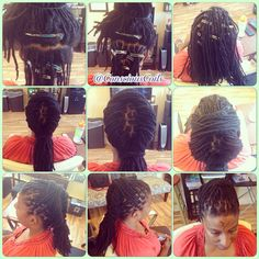 Style: Loc Retight (Palm-rolled/twisted) Client's Hair Type: 4b/c Hair Added: NA Products Used: Coiled! by Conscious Coils (Original Refresher Spray and Loc and Styling Gel)  Time: 1hr 32mins Style Duration: Retight ever 4-6weeks  #consciouscoils #consciouscoilssalon