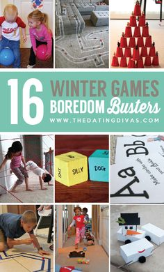 Fun games to keep the kiddos busy during the long, cold winter.
