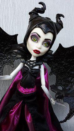 Monster High Maleficent Custom by kaki2501, via Flickr