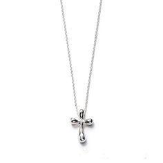 Tiffany co elsa peretti quadrifoglio pendant tiffany co elsa peretti cross pendant jewelry mozeypictures Gallery