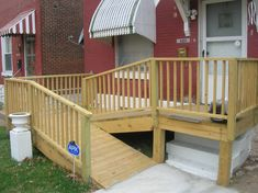 WHEELCHAIR RAMP FOR HOME
