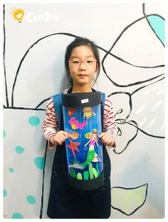 Newspaper Crafts, Art School, Crafts For Kids, Fish Tank, Crafts For Toddlers, School Of Arts, Kid Crafts, Craft Kids