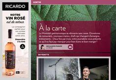 À la carte - La Presse+ Pastry Chef, Going Out, Fine Dining, Cards