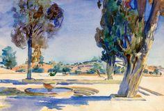 John Singer Sargent (American, 1856-1925) > Jerusalem, 1906