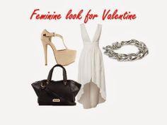 white, valentines day, fashion, look