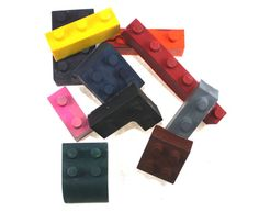 Set of 10 Lego Crayons  Mixed shapes  Lego movie by WizardAtWork, $8.00