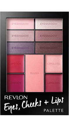 Revlon Eyes, Cheeks   Lips™ Palette. COMPLETE LOOKS IN ONE PALETTE. Berry in Love.