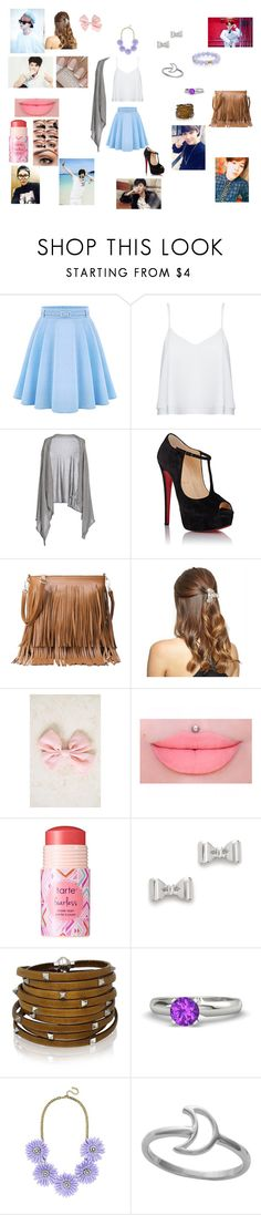 """""""walk in the park with jimin"""" by kara-kat ❤ liked on Polyvore featuring Alice + Olivia, Dolce&Gabbana, Christian Louboutin, New Look, tarte, Marc by Marc Jacobs, Sif Jakobs Jewellery, Gemvara, BaubleBar and Midsummer Star"""