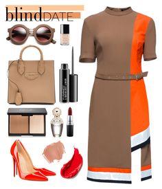 """#435"" by milicamonaj ❤ liked on Polyvore featuring Christian Louboutin, Lattori, Balenciaga, MAC Cosmetics, Chanel, Marc Jacobs, Estée Lauder, women's clothing, women and female"