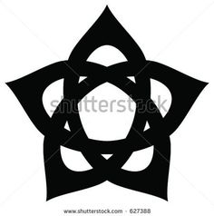 Hidden Pentagram Stock Vector 627388 : Shutterstock