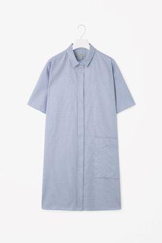Boxy shirt dress